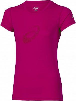 Dámské běžecké tričko Asics Graphic SS Top