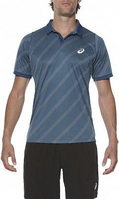 Pánské tenisové tričko Asics Club Graphic SS Polo