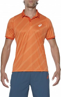 Asics Club Graphic SS Polo