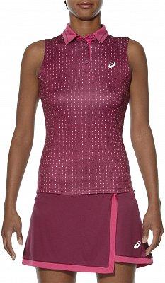 Dámské tenisové tričko Asics Club SleeveleSS Polo