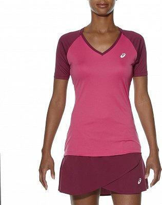 Dámské tenisové tričko Asics Club V-Neck Top