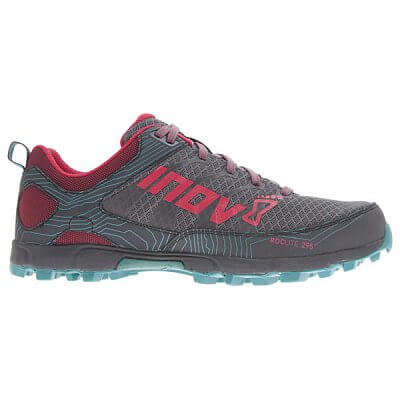 Běžecká obuv Inov-8 ROCLITE 295 (S) grey/berry/teal šedá