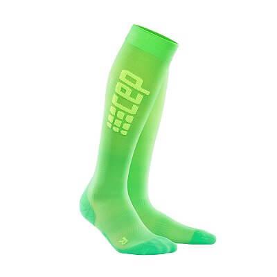 Ponožky CEP Běžecké podkolenky ultralight pánské viper / zelená