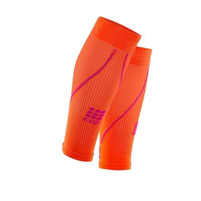 Návleky CEP lýtkové návleky dámské tmavě oranžová / růžová