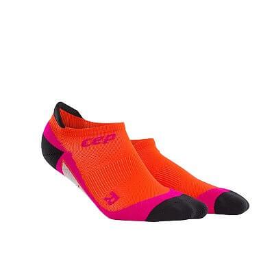 Ponožky CEP Nízké ponožky dámské tmavě oranžová / růžová