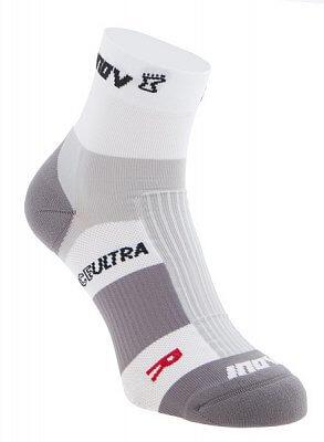 Ponožky Inov-8 RACE ULTRA mid 2p white/grey bílá