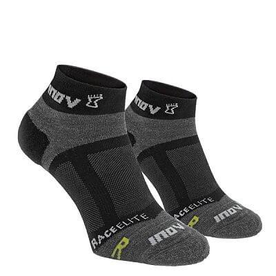 Ponožky Inov-8 RACE ELITE sock low 2p black/grey černá