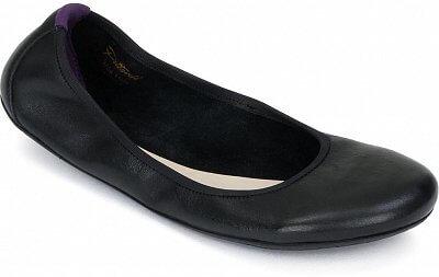 Dámská vycházková obuv Vivobarefoot Jing Jing L Leather Black/Hide