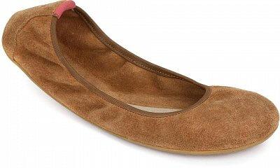 Dámská vycházková obuv Vivobarefoot Jing Jing L Suede Chestnut