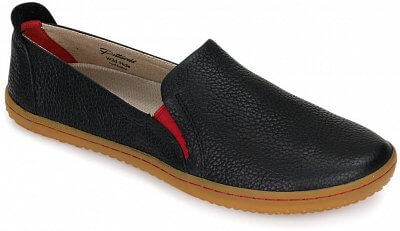 Dámská vycházková obuv Vivobarefoot Mata L Leather Black/Hide