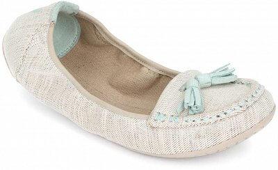 Dámská vycházková obuv Vivobarefoot Penny L Canvas Natural