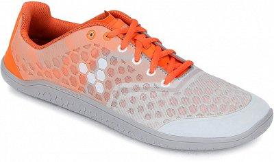 Pánské běžecké boty Vivobarefoot Stealth 2 M  Grey/Orange Tribal