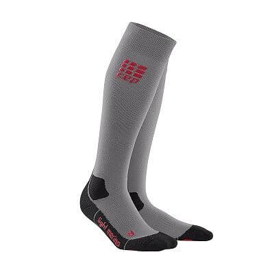 Ponožky CEP Outdoorové podkolenky ultralight merino dámské volcanic stone