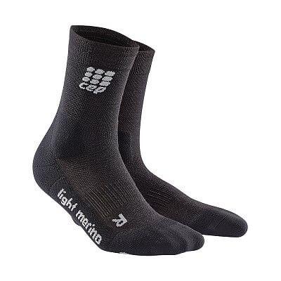 Ponožky CEP Outdoorové ponožky ultralight merino pánské lava stone