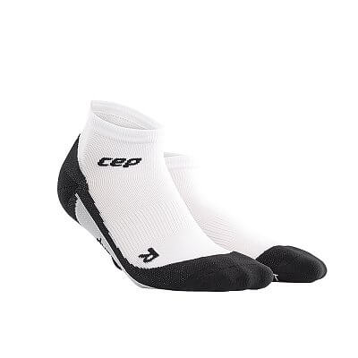 Ponožky CEP Kotníkové ponožky dámské bílá / černá