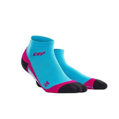 Ponožky CEP Kotníkové ponožky dámské havajská modř / růžová