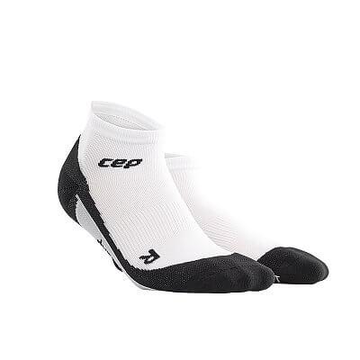 Ponožky CEP Kotníkové ponožky pánské bílá / černá