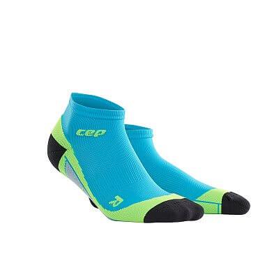 Ponožky CEP Kotníkové ponožky pánské havajská modř / zelená