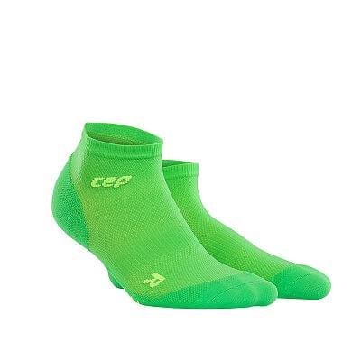 Ponožky CEP Kotníkové ponožky ultralight pánské viper / zelená
