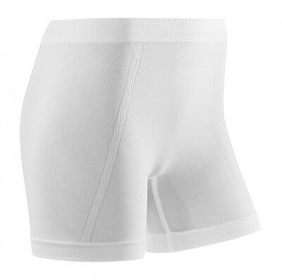 Spodní prádlo CEP Sportovní boxerky ultralight dámské bílá