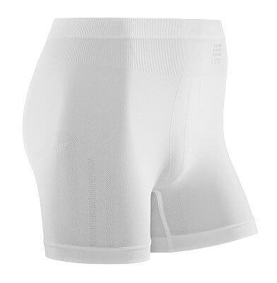 Spodní prádlo CEP Sportovní boxerky ultralight pánské bílá