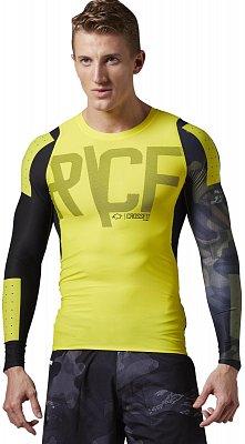 Pánské sportovní tričko Reebok RCF PWR6 L/S Compression Shirt