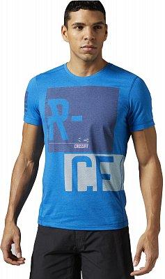 Pánské sportovní tričko Reebok RCF Performance Blend Tee v1