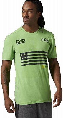 Pánské sportovní tričko Reebok RCF Cool Soul Burnout Tee
