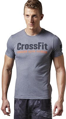 Pánské sportovní tričko Reebok RCF Forging Elite Fitness Tee
