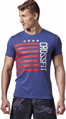 Pánské sportovní tričko Reebok RCF Stars&Stripes Tee