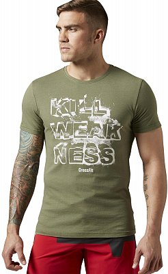 Pánské sportovní tričko Reebok RCF Kill Weakness Tee