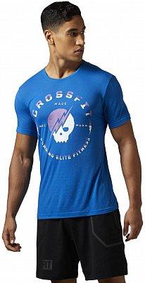 Pánské sportovní tričko Reebok RCF Skull Tee