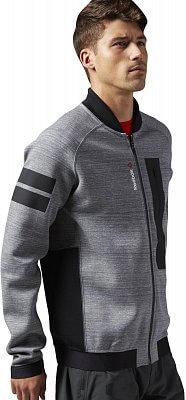 Pánská sportovní bunda Reebok ONE Series Quik Cotton Fleece TRK JKT