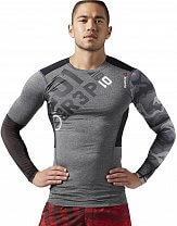 Reebok ONE Series PW3R LS Compression Top