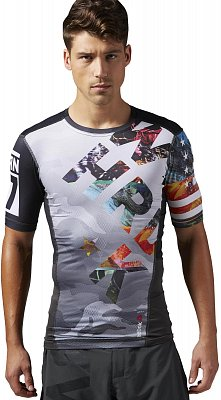 Reebok ONE Series PW3R SS Compression Top A