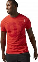 Reebok ONE Series One More Rep Triblend SS Top