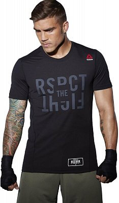 Pánské sportovní tričko Reebok TLAF SS MMA Tee