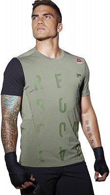 Pánské sportovní tričko Reebok Train Like A Fighter SS Tee 1