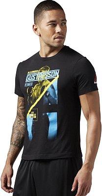 Pánské sportovní tričko Reebok Gustafsson Fighter Tee
