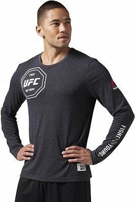 Pánské sportovní tričko Reebok UFAN LS Tee