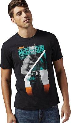 Pánské sportovní tričko Reebok McGregor Fighter Tee