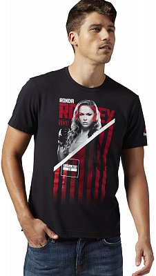Pánské sportovní tričko Reebok Rousey Fighter Tee