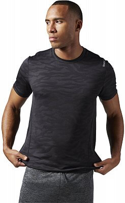 Pánské sportovní tričko Reebok Work Out Ready Jacquard Tech Top