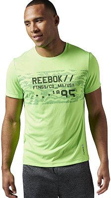 Reebok Work Out Ready Premium Graphic Tech Top