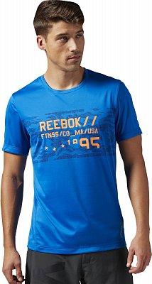 Pánské sportovní tričko Reebok Work Out Ready Premium Graphic Tech Top