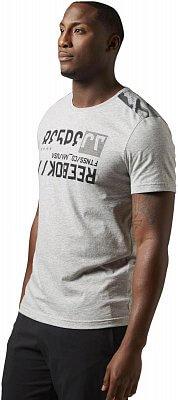 Pánské sportovní tričko Reebok WOR C Com Tee Aop