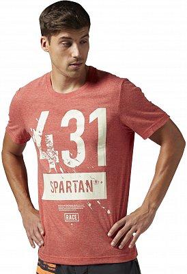 Pánské běžecké tričko Reebok Spartan Race Short Sleeve Tri-blend Tee 1