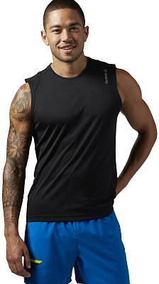 Pánské běžecké tričko Reebok Running Essentials Sleeveless Tee