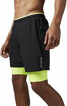 Reebok Running Essentials 2 in 1 Short
