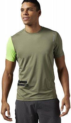 Pánské sportovní tričko Reebok Les Mills Poly Tee